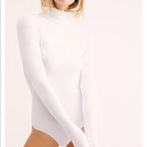 Free People Seamless Turtleneck Bodysuit